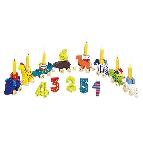 goki Kerzenständer »Geburtstagskarawane«