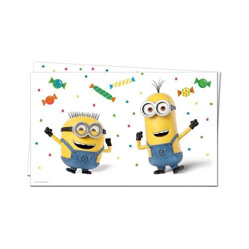 Procos Tischdecke Minions Balloons Party 120 x 180 cm