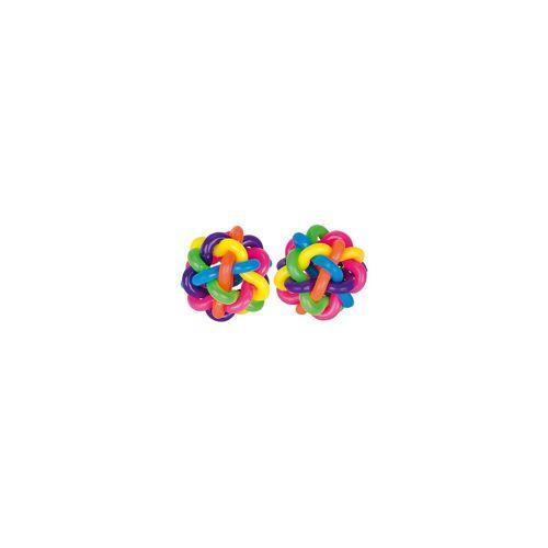 goki Regenbogenbälle Ø= 4 cm, 6 Stück