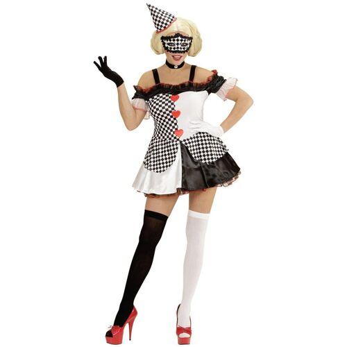 Widmann Kostüm »Pierrot Clown Girl Kostüm«
