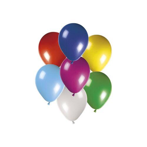 Procos Luftballons 50 Latex Ballons 30 cm bunt gemischt