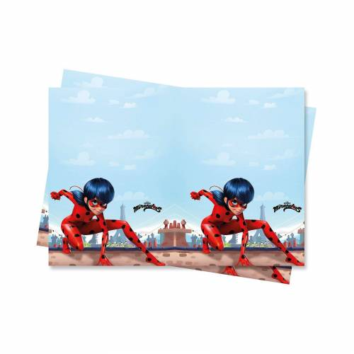 Procos Miraculous Ladybug 1 Plastiktischdecke 120x180cm Design MIRA