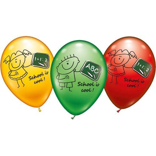 Karaloon Luftballon »Luftballons School is cool, 6 Stück«