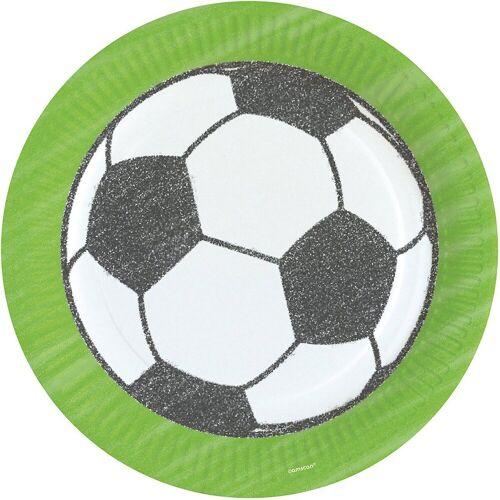 Amscan Kindergeschirr-Set »Partyset World Cup, 60-tlg.«