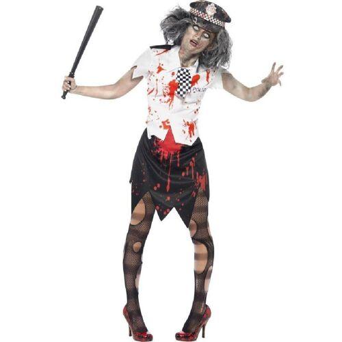 Smiffys Kostüm »Zombie Polizeifrau Kostüm«