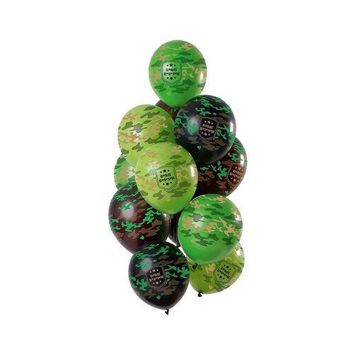 Folat Luftballon »Luftballons Camo 30 cm, 12 Stück«