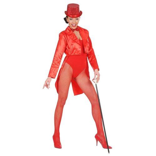 Widmann Kostüm »Showgirl Satin-Frack rot für Damen«