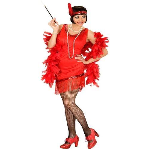 Widmann Kostüm »20`s Jasmine Charleston Kostüm rot«
