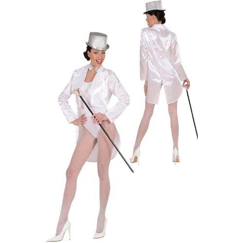 Widmann Kostüm »Showgirl Satin-Frack weiß für Damen«