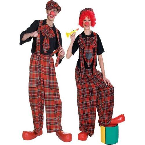 Rubie´s Kostüm »Clown Latzhose für Herren und Damen«