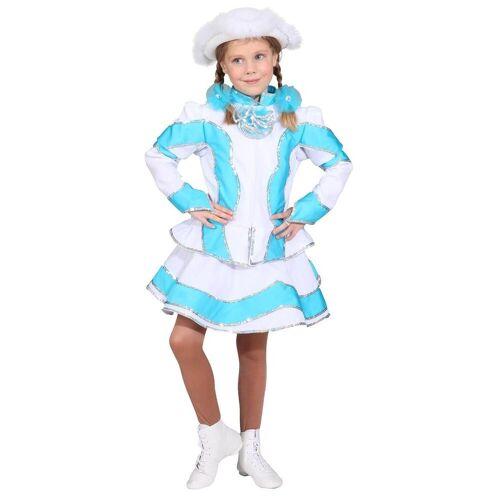 Orlob Kostüm »Funkenmariechen Kinderkostüm in türkis-weiß«