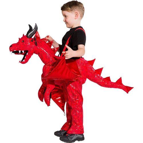 Orlob Kostüm »Ride-on-Kostüm roter Drache«
