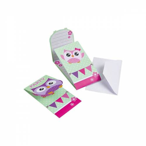 Amscan Geburtstagskarte, rosa/lila