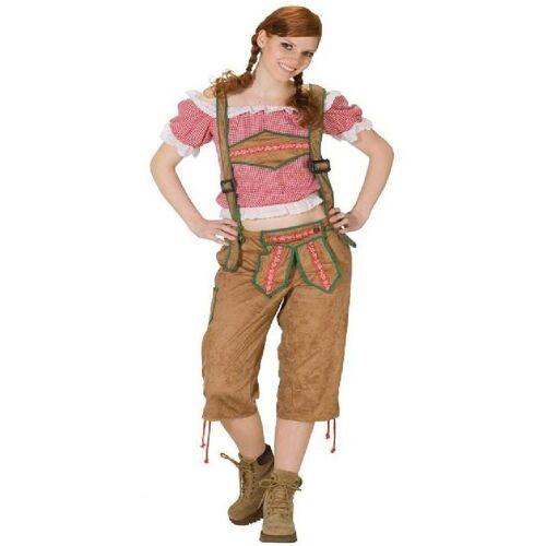 Rubie´s Kostüm »Trachtenbluse Fritzi rot-kariert«