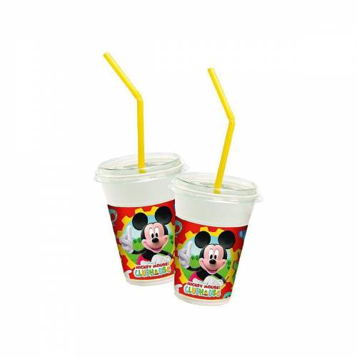 Procos Kinderbecher »Milchshake Becher Mickey Mouse Club House, 8 Stück«