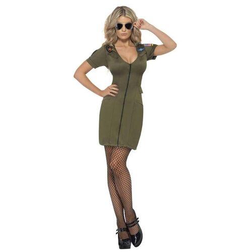 Smiffys Kostüm »Sexy Top Gun Kleid«