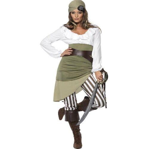 Smiffys Kostüm »Sassy Piratin Kostüm«
