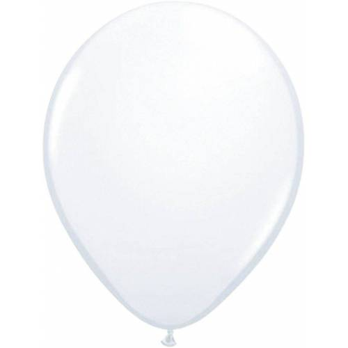 Folat Luftballon »Luftballons metallic rot 30 cm, 50 Stück«, weiß