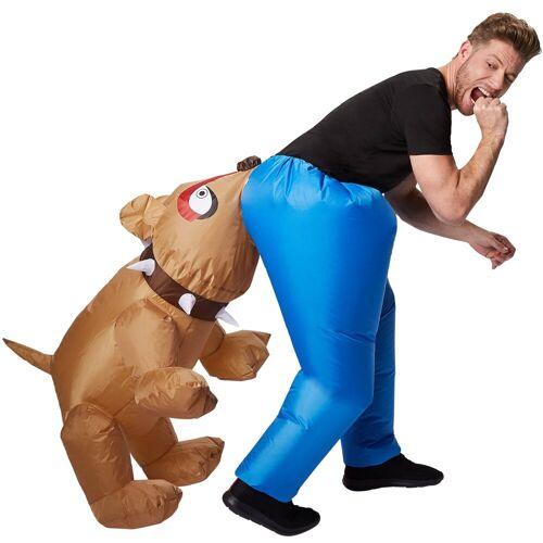 tectake Kostüm »Selbstaufblasbares Kostüm Hund«