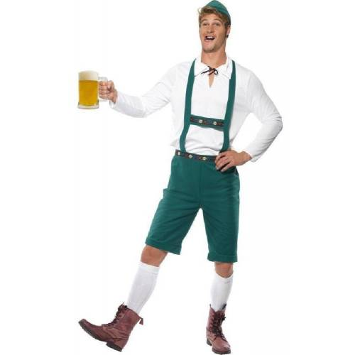 Smiffys Kostüm »Seppl Oktoberfest Tracht grün«