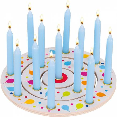 goki Kerzenständer »Geburtstagskranz Luftballons, 3-tlg.«