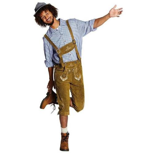Rubie´s Kostüm »Trachten Lederhose Bruno Herrenkostüm«