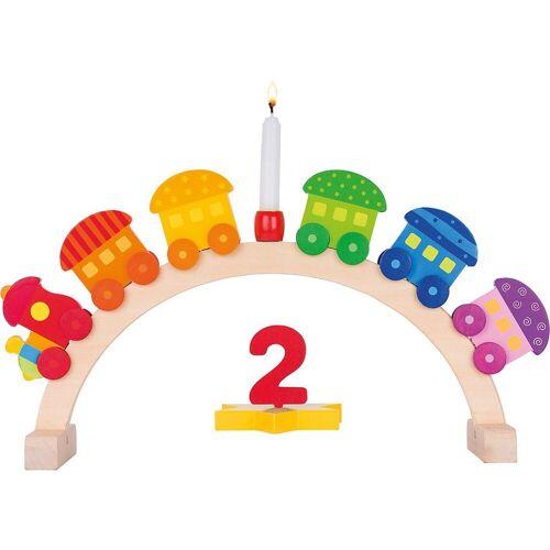 goki Kerzenhalter »Geburtstagsbogen Mein kleiner Zug, 11-tlg.«
