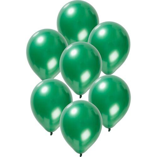 Folat Luftballon »Luftballons metallic rot 30 cm, 50 Stück«, grün