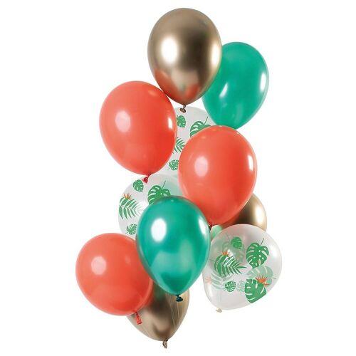 Folat Luftballon »Luftballons Golden Blush 30 cm, 12 Stück«, grün