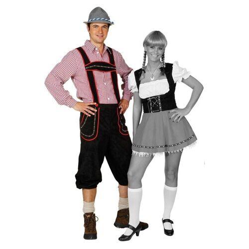 Orlob Kostüm »Bayerischer Bub Trachtenhose Schwarz«