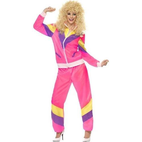 Smiffys Kostüm »80er Jahre Tussi Jogginganzug Kostüm«