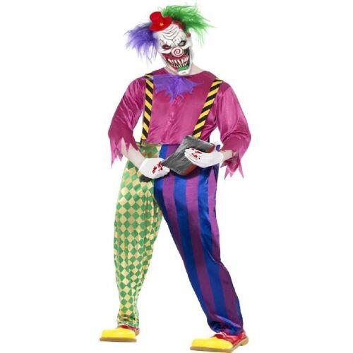 Smiffys Kostüm »Horror Killer Clown Kostüm bunt«