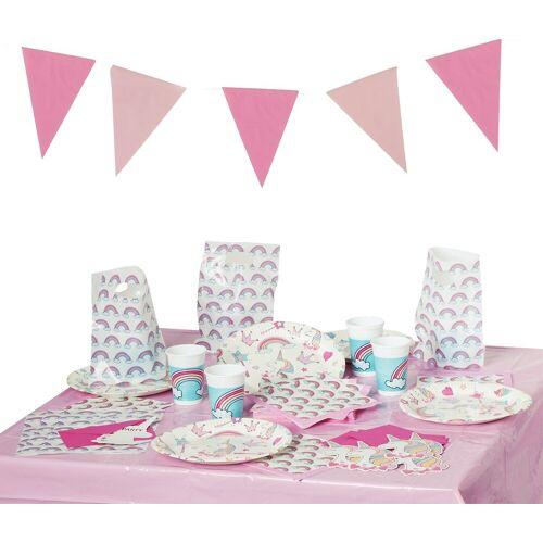 Procos Kindergeschirr-Set »Partyset Magic Party, 50-tlg.«