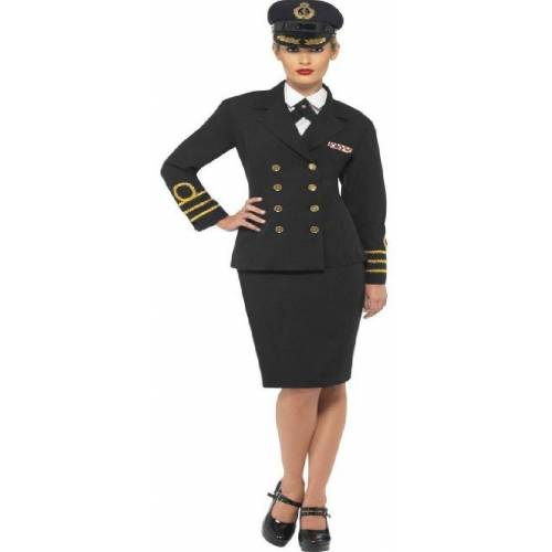 Smiffys Kostüm »Marine Offizierin Kostüm«