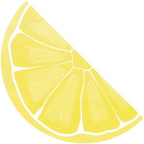 Procos Generic 16 dreilagige Servietten Zuschnitt Zitrone 33x17,3cm