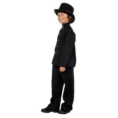 Wilbers Kostüm »Kostüm Schornsteinfeger Junge 128 - 164 cm - Glücksbringer Kaminfeger«