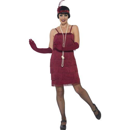 Smiffys Kostüm »20er Jahre Marta Flapper Kostüm rot«