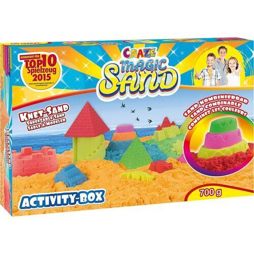 CRAZE Spielsand »Magic Sand - Activity Box«