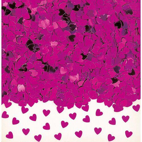 Amscan Konfetti »Konfetti Sparkle Hearts, pink«