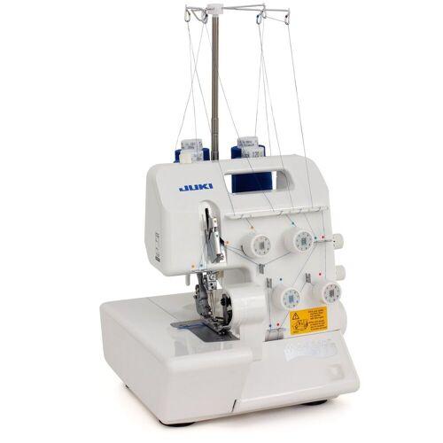 Juki Overlock-Nähmaschine MO-654DE, Platzsparende und effiziente Overlockmaschine