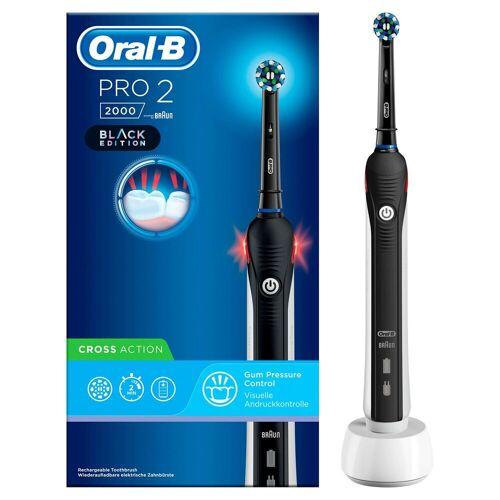 Oral B Elektrische Zahnbürste PRO 2 2000, Aufsteckbürsten: 1 St.