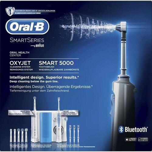 Oral B Munddusche Center OxyJet Munddusche & Smart 5 Zahnbürste