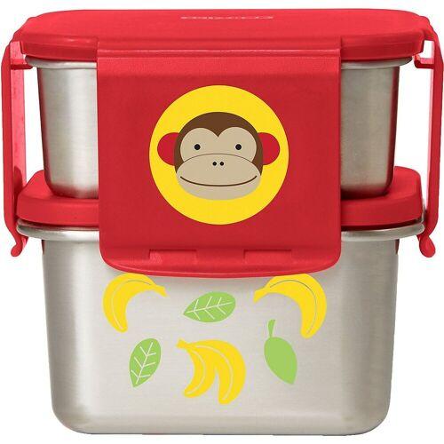 Skip Hop Kindergeschirr-Set »Zoo Edelstahl-Lunch-Set Affe«
