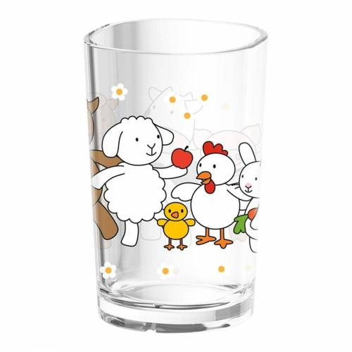 Emsa Kinderbecher »Kinderglas Farm Family«, Glas