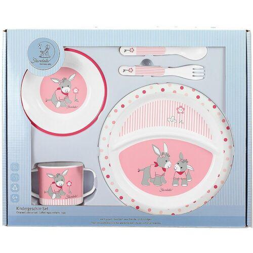 Sterntaler® Kindergeschirr-Set »Kindergeschirr Emmi Girl, 5-tlg. Set, rosa/pink«