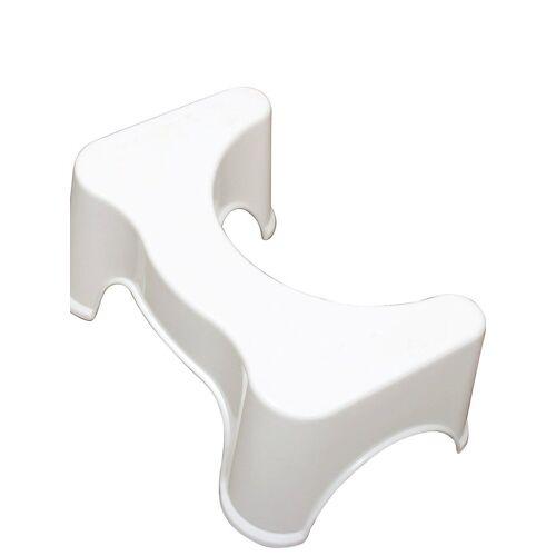 WC-Hocker passend für alle Toiletten, weiß