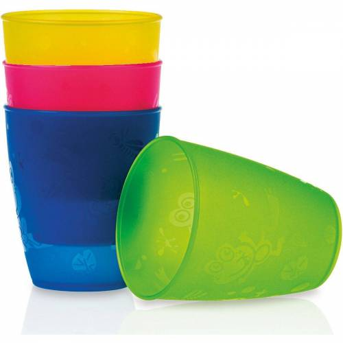 Nuby Becher »Trinkbecher, 4er Pack«