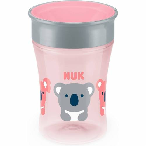 NUK Trinkbecher magic cup, 230 ml, rosa, Koala, rosa