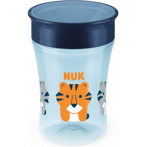 NUK Trinkbecher magic cup, 230 ml, blau, Tiger, blau