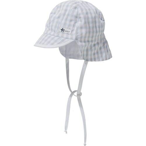 Sterntaler® Baby Schirmmuetze mit UV-Schutz 50+ mit Nackenschutz zum Bin, blau